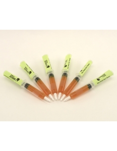 Dye Testers, Florescent Yellow (Bag of 6)
